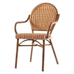 림프 라탄 팔걸이 의자[SH003202]