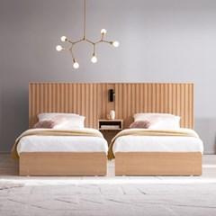 잉글랜더 티탄 호텔형 트윈 수납 침대+협탁1EA(DH 7존 라텍스 독립매