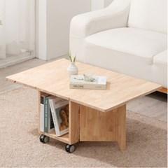 좌식 확장형 접이식 이동식 테이블