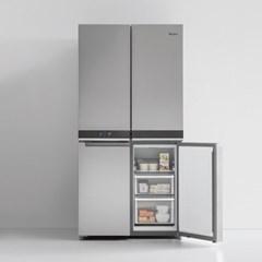 월풀 세미빌트인 4도어 냉장고