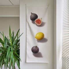 fruit/과일 A_세로형 패브릭 포스터 / 바란스커튼