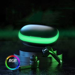 RGB 블루투스 이어폰 게이밍이어폰 C타입 충전