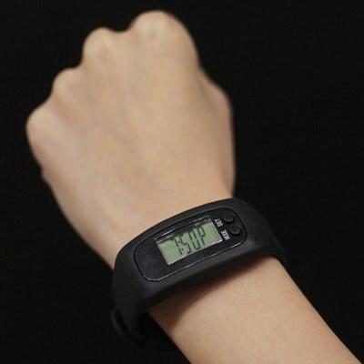 남성 여성 손목 시계형 운동 만보기 만보계 1p