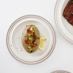 정품 시라쿠스 메이플 라인/코지 7컬러 접시 중 17cm