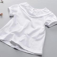 당일배송 SALE 여아 램프 삐에로 반팔 블라우스 셔츠