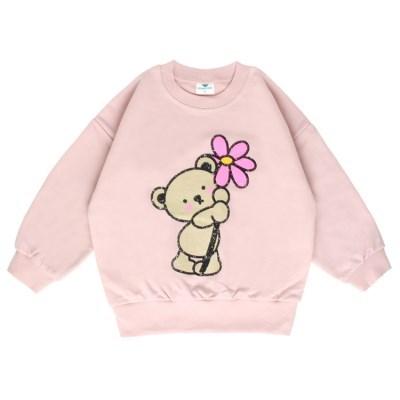 [마미버드] 포유 맨투맨 (핑크)