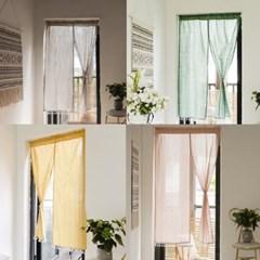 패브릭 커튼 바란스 미니커튼 작은창 창문주방 가리개 d