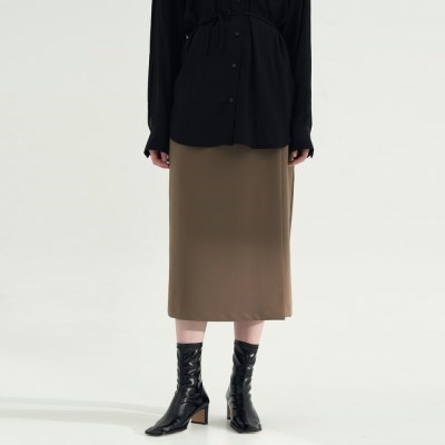 Breeze Wrap Skirts - Brown