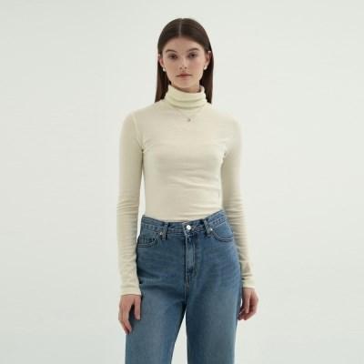 Wool Pola T-shirts - Ivory