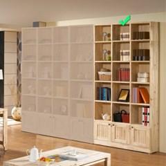 [에띠안]베이직 삼나무 24T 6단 1200 도어 책장