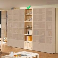 [에띠안]베이직 삼나무 24T 6단 500 도어 책장