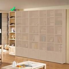[에띠안]베이직 삼나무 24T 6단 350 도어 책장