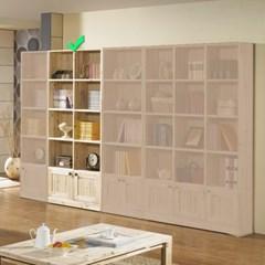 [에띠안]베이직 삼나무 24T 5단 800 도어 책장
