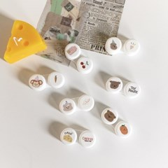 7color 러블리 휴대용 렌즈 케이스 ac-9398c