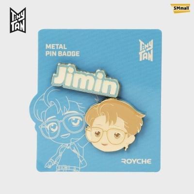 BTS 타이니탄 다이너마이트 메탈 핀 뱃지 지민 JIMIN