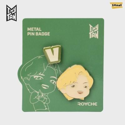 BTS 타이니탄 다이너마이트 메탈 핀 뱃지 뷔 V