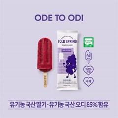 콜드스프링 유기농 오디  아이스 팝스 오드투오디  5개입