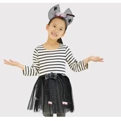 망사 리본 드레스세트