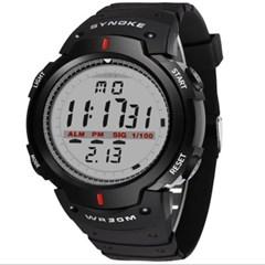 시원시원 스크린 디지털 손목 시계 Black 61576
