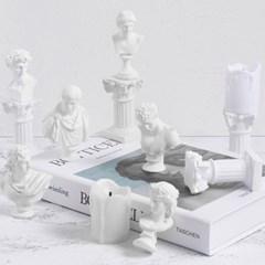 미니석고상 6type 인테리어소품 미니조각상