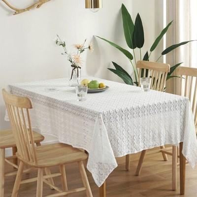 로맨틱 레이스 식탁보 테이블보 2인용 4인용