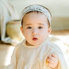 채니봉봉 모아르 베이비밴드 아기헤어밴드