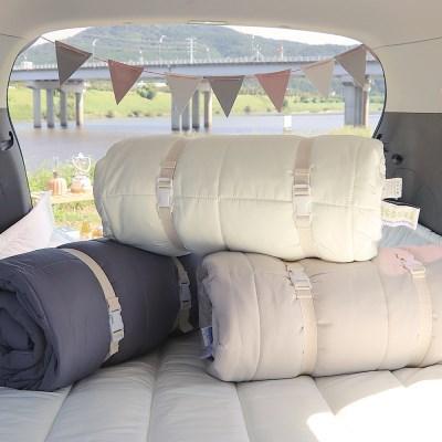 포레스트 진드기방지 사계절 감성캠핑 차박 이불 패드 베개 풀세트
