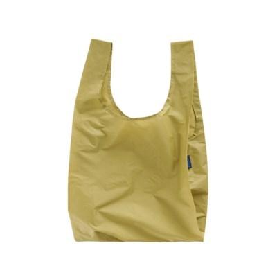 [바쿠백] 휴대용 장바구니 접이식 시장가방 Wheat