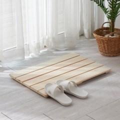 편백나무 발판(소) 히노끼 욕실 화장실 발판 원목 변기발판 매트