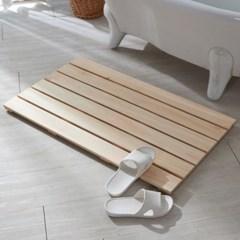 히노끼 욕실발매트(중) 편백 원목 나무 화장실 현관 욕실발판