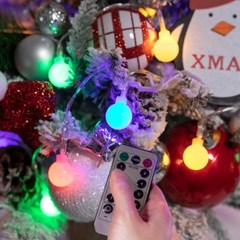LED 5~50P앵두전구 3in1 크리스마스 장식 조명 TRLEDB