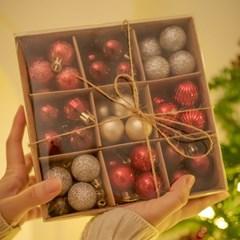 크리스마스 트리 오너먼트 장식볼 세트 99pcs_2color