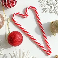 크리스마스 트리 오너먼트 장식 지팡이 캔디케인 6pcs
