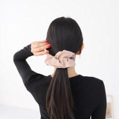 학생 에코 레더 슈슈 곱창밴드 기본 H1301 헤어 머리끈