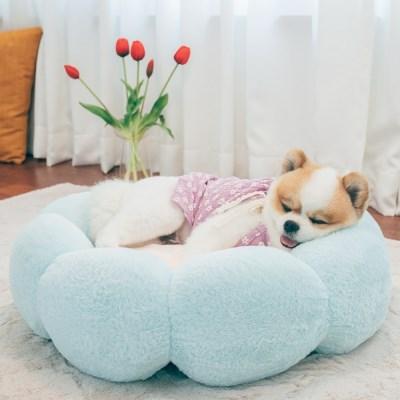 강아지방석 고양이방석 쿠션 이불 담요 개 중형
