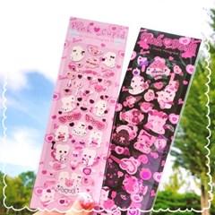 핑크 데빌 핑크박 씰스티커
