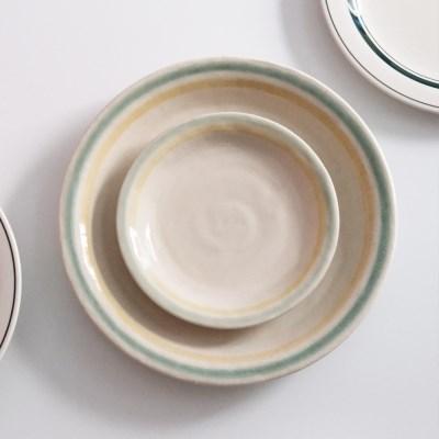 카네수즈 모유라 플레이트 브런치 접시 예쁜 그릇 신혼 일본 그릇