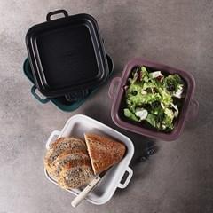항균플레이트 사각라지4p간편식기 간식접시 캠핑그릇