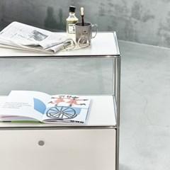 모듈 스틸 2단 캐비넷 선반 - LARGE 30/301 (패널 컬러 선택)