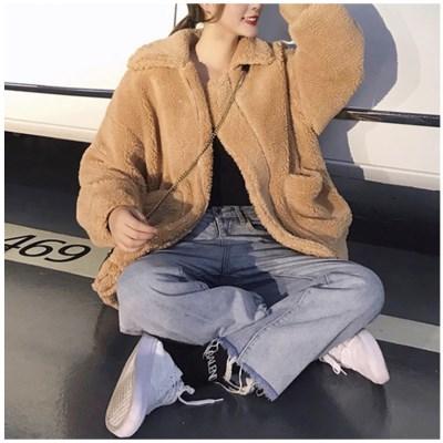 여성 뽀글이 집업 자켓 재킷 아우터 데일리 레트픽