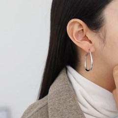 링 골드 실버 기본 심플 E1339 패션 귀걸이