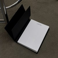the box diary set (black)