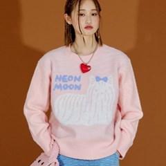 NEONMOON Doggie PINK Knit