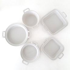 항균플레이트 모듬세트 5p간편식기 간식접시 캠핑그릇