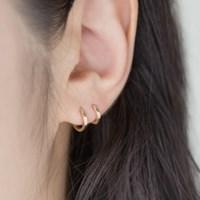 데일리 아이템으로 활용하기 좋은 14k 원터치 귀걸이