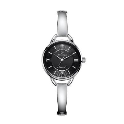 디유아모르 여성 메탈밴드시계 DAW3502-SB 다이아몬드 시계
