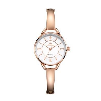 디유아모르 여성 메탈밴드시계 DAW3502-RW 다이아몬드 시계