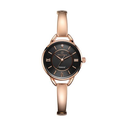 디유아모르 여성 메탈밴드시계 DAW3502-RB 다이아몬드 시계