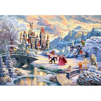 1000피스 직소퍼즐 - 미녀와 야수 겨울 마법