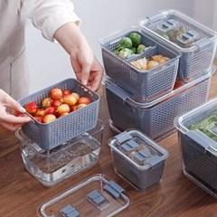 물빠짐 채반 냉장고 야채보관함 2 SIZE